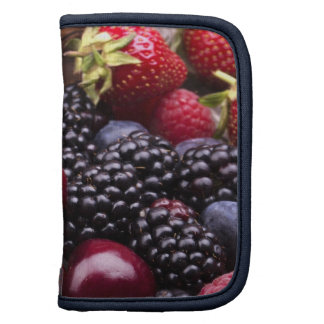 Tasty Summer Fruits On A Wooden Table Planner