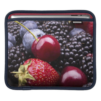 Tasty Summer Fruits On A Wooden Table Sleeve For iPads