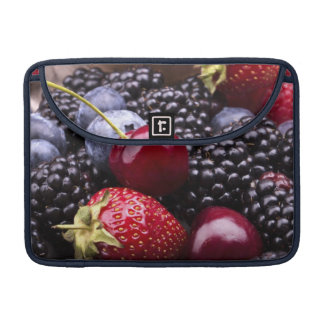 Tasty Summer Fruits On A Wooden Table Sleeves For MacBook Pro