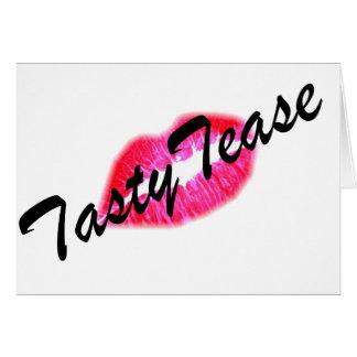 Tasty Tease Card
