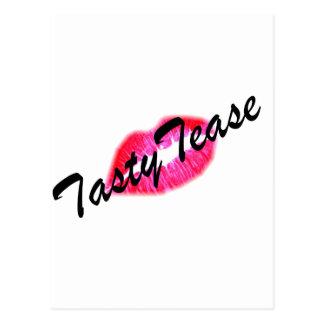 Tasty Tease Postcard