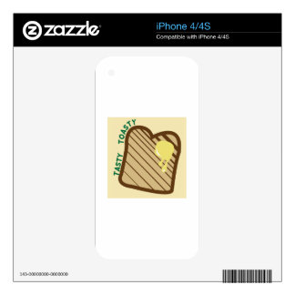 Tasty Toasty Skins For The iPhone 4S
