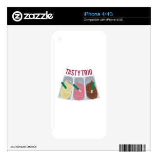 Tasty Trio Decal For The iPhone 4