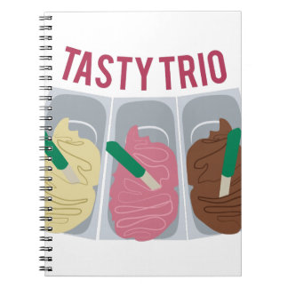 Tasty Trio Notebook