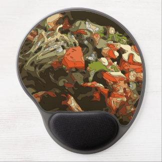 Tasty Wok Vegetable Saute over Noodles Gel Mouse Pad