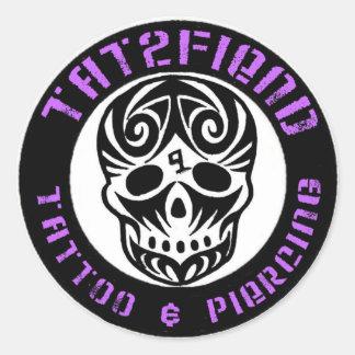Tattoo Shop Stickers