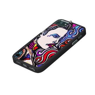 TAT GIRL SWIRL iPHONE 5 CASE by CUSTOM CHAOS