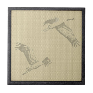 Tatami - Crane Ceramic Tile