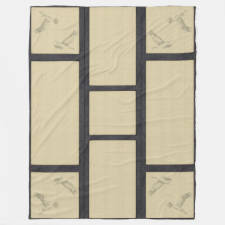 TATAMI - Crane Fleece Blanket
