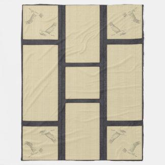 TATAMI - Crane Fleece Blanket