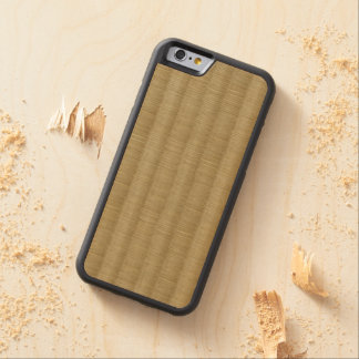 Tatami Mat 畳 2 Carved® Maple iPhone 6 Bumper