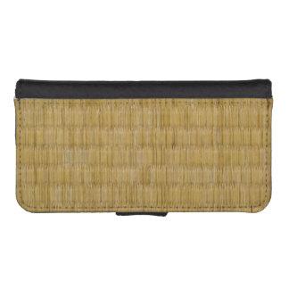 Tatami Mat 畳 iPhone SE/5/5s Wallet Case