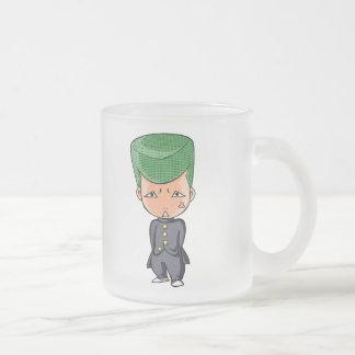 Tatami mat recent senior English story Frosted Glass Coffee Mug