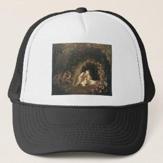 Tatania Sleeping by Richard Dadd Trucker Hat