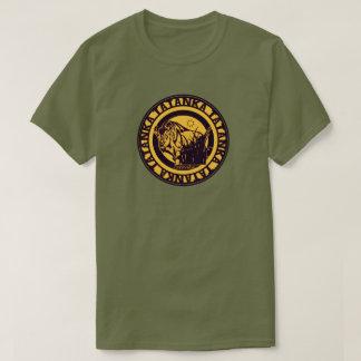 Tatanka (Buffalo) Black & Deep Yellow T-Shirt