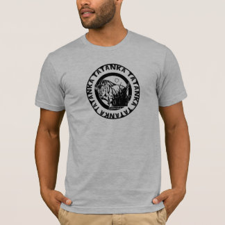 Tatanka (Buffalo) Black & White 2 T-Shirt