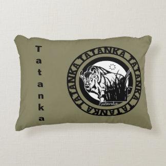 Tatanka (Buffalo) Black & White Accent Pillow
