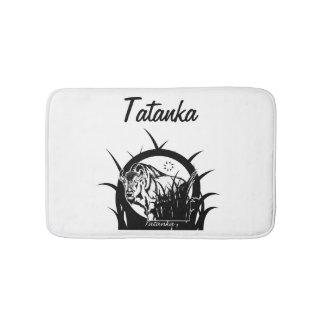 Tatanka (Buffalo) Black & White Bathroom Mat