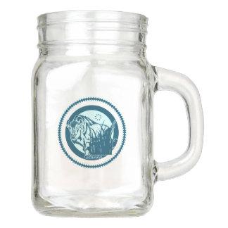 Tatanka (Buffalo) Blue Mason Jar