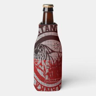 Tatanka (Buffalo) Red Black Pattern 2 Bottle Cooler
