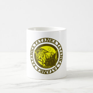 Tatanka (Buffalo) Yellow Coffee Mug