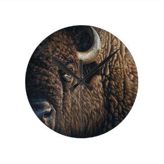 Tatanka Round Clock