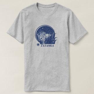 Tatanka Stars-American Buffalo/Bison Blue T-Shirt