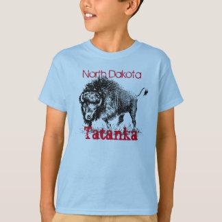 """Tatanka"" with American bison T-Shirt"