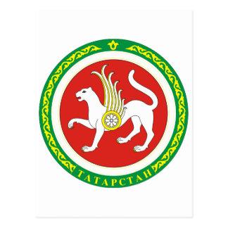 Tatarstan Official Coat Of Arms Heraldry Symbol Postcard