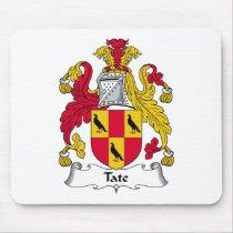 Tate Family Crest Mousepad