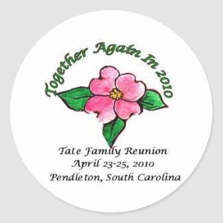 Tate Family Reunion Stickers