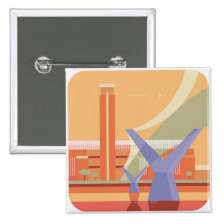 Tate Gallery and Millennium Bridge Pins