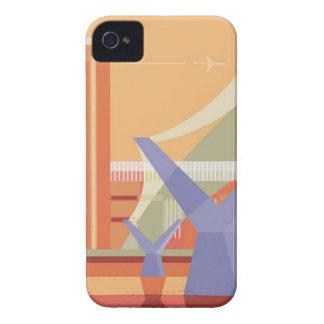 Tate Gallery and Millennium Bridge iPhone 4 Case-Mate Cases