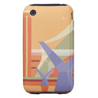 Tate Gallery and Millennium Bridge iPhone 3 Tough Case