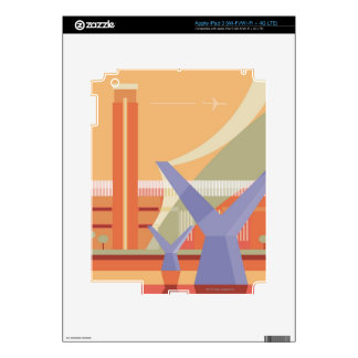 Tate Gallery and Millennium Bridge iPad 3 Skin