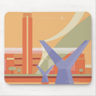 Tate Gallery and Millennium Bridge Mouse Pad