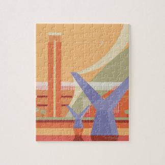 Tate Gallery and Millennium Bridge Jigsaw Puzzles