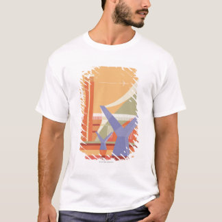 Tate Gallery and Millennium Bridge T-Shirt