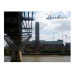 tate modern bridge postcard