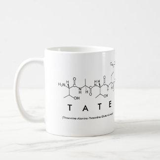 Tate peptide name mug