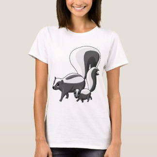 Tater and Tot the Skunks T-Shirt