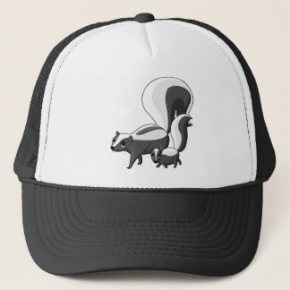 Tater and Tot the Skunks Trucker Hat