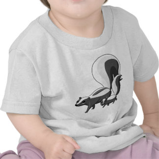 Tater and Tot the Skunks T-shirts