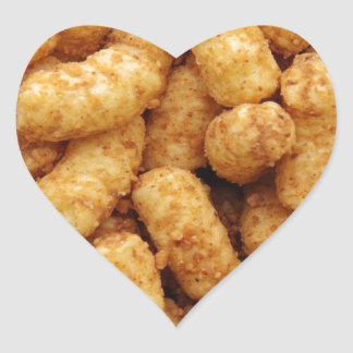 Tater Tots Heart Sticker