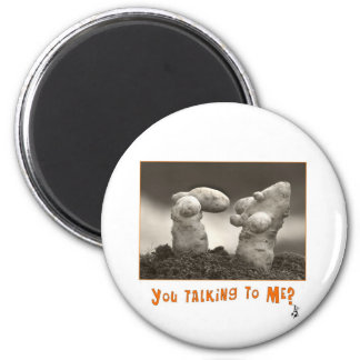 Taters 2 Inch Round Magnet