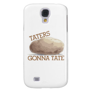 Taters Gonna Tate Galaxy S4 Cases