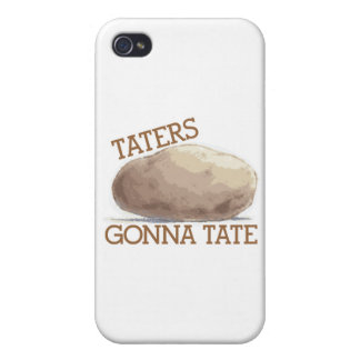 Taters Gonna Tate iPhone 4 Covers