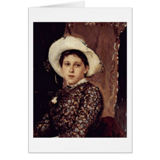 Tatiana Mamontowa By Wassnezow Mikhailovich Greeting Cards