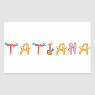 Tatiana Sticker