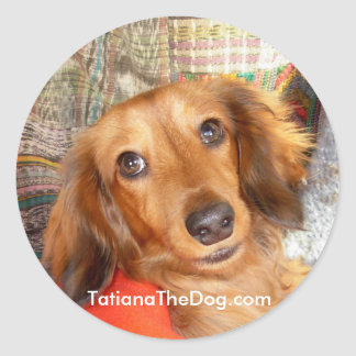 Tatiana The Dog ~ Stickers